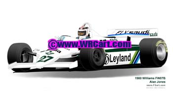 Williams FW07 1980 Alan Jones