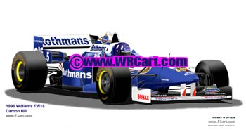 Williams FW18 1996 Damon Hill