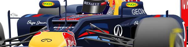 Red Bull RB8 2012 Sebastien Vettel close up