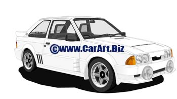 Ford Escort III RS1700T