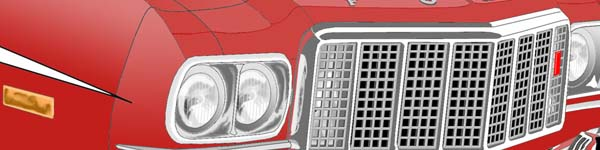 Ford Gran Torino  close up