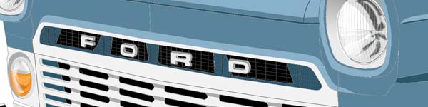 Ford Transit MK1  close up
