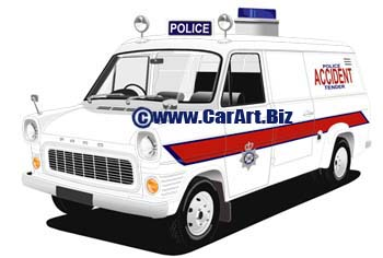 Ford Transit MK1  Thames Valley police
