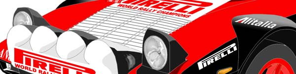 Lancia Stratos San Remo Rally 1978 Markku Alen close up