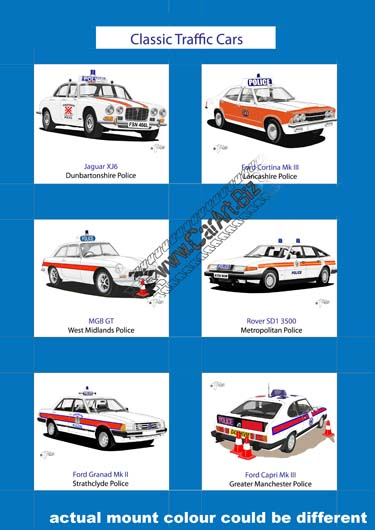 Classic police traffic cars (2)