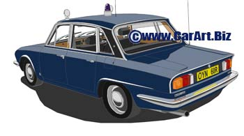 Triumph 2500  West Midlands police