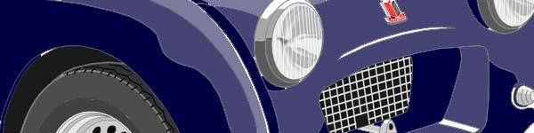 Triumph TR2  close up