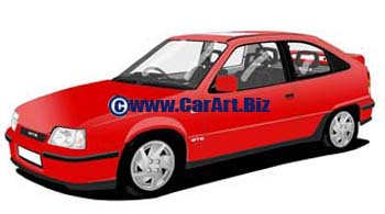 Vauxhall Astra 2 GT/E