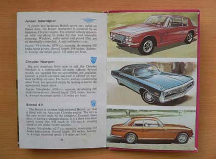My earliest influence in painting cars, the Ladybird book