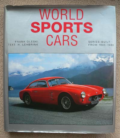 World Sports Cars - what a book!