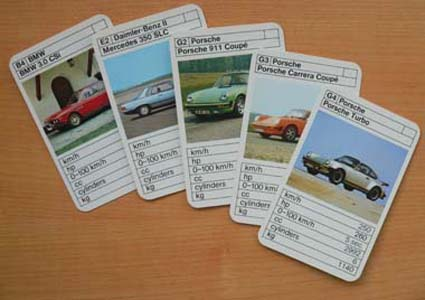 Top Trumps were an early influence on the cars I was into