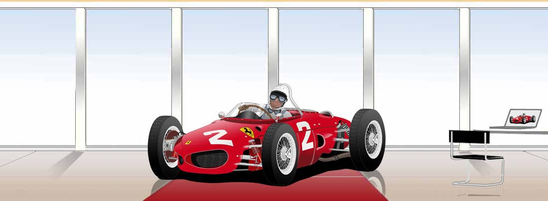 Ferrari 156 sharknose Phil Hill F1