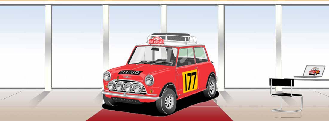 Mini Cooper Monte Carlo Rally 1967